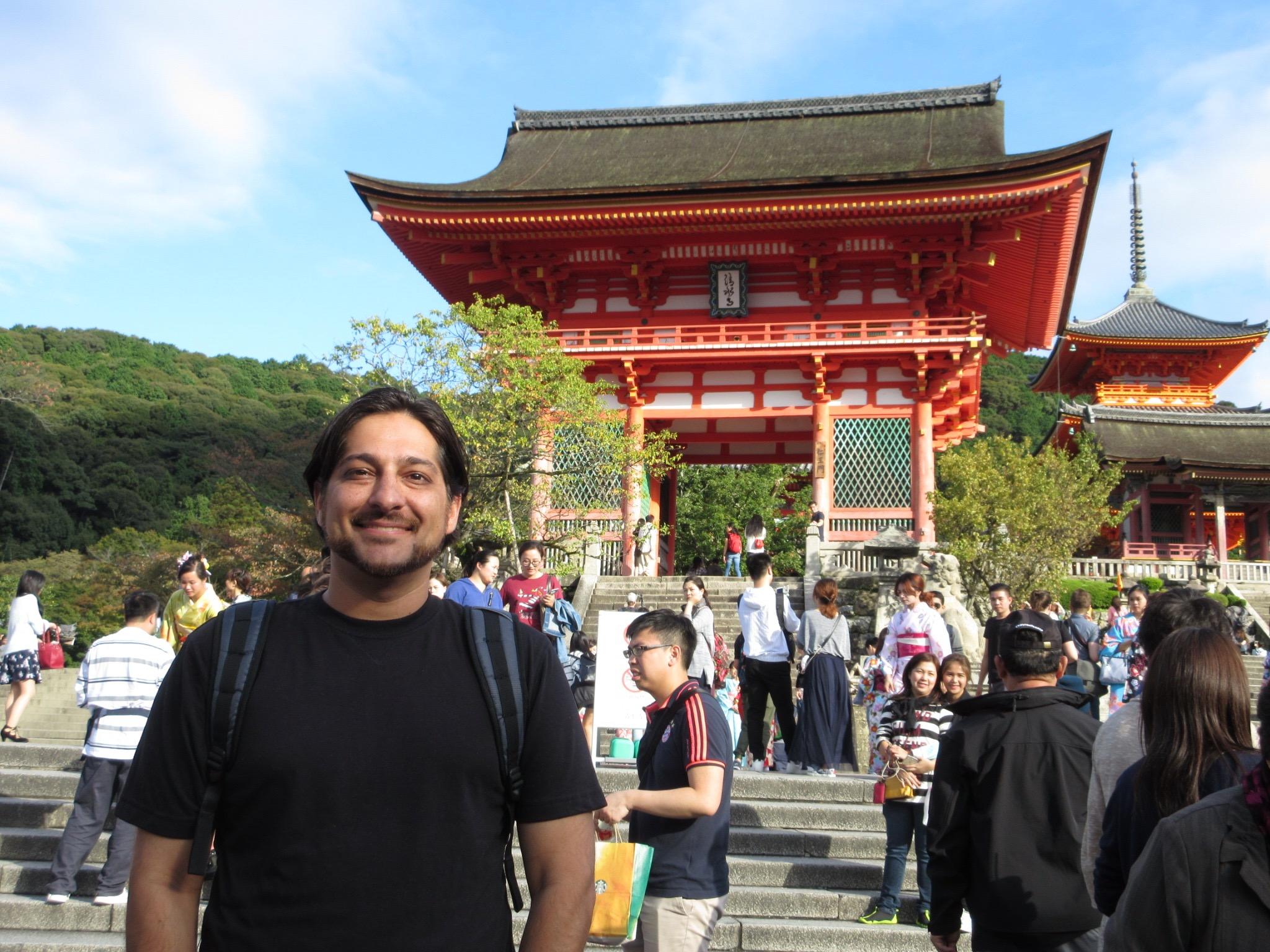 Shirin Asrani Visiting Kiyomizu